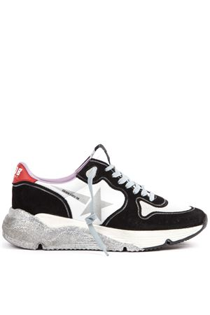 8e059c255 SUEDE AND MESH BLACK AND WHITE RUNNING SNEAKERS FW 2019 GOLDEN GOOSE DELUXE  BRAND | 55 ...