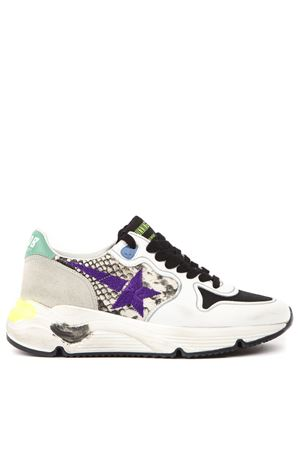 MULTICOLOR LEATHER & POLYESTER RUNNIG SNEAKER FW 2019 GOLDEN GOOSE DELUXE BRAND | 55 | G35WS9631I1
