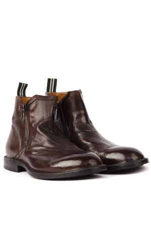 DARK BROWN LEATHER ANKLE BOOTS FW 2019 GREEN GEORGE | 52 | 1025MAREMMA432
