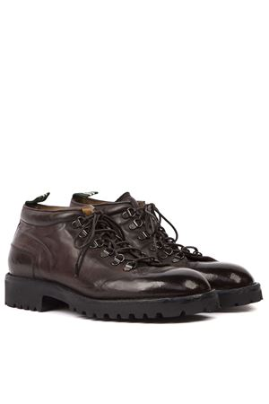 DARK BROWN LEATHER LACED SHOES FW 2019 GREEN GEORGE | 208 | 1027MAREMMA432
