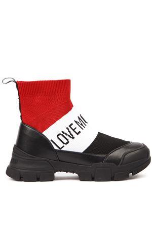 STIVALE LOVE MOSCHINO NERO CON CALZINO ELASTICO AI 2019 LOVE MOSCHINO | 52 | JA15614G08JT0UNI00A
