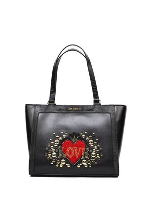BLACK HEART FAUX LEATHER BAG FW 2019 LOVE MOSCHINO | 2 | JC4106PP18LTUNI0000