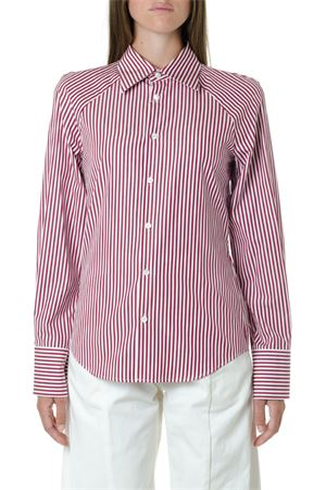 WHITE & RED COTTON STRIPPED SHIRT FW 2019 MAISON MARGIELA | 9 | S51DL0295S44619008F