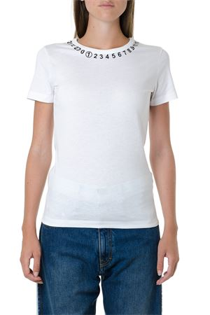 ICONIC WHITE COTTON T-SHIRT FW 2019 MAISON MARGIELA | 15 | S51GC0434S23525100