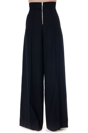 BLACK HIGH-WAISTED OVERSIZED TROUSERS FW 2019 MAISON MARGIELA | 8 | S51KA0453S52159511
