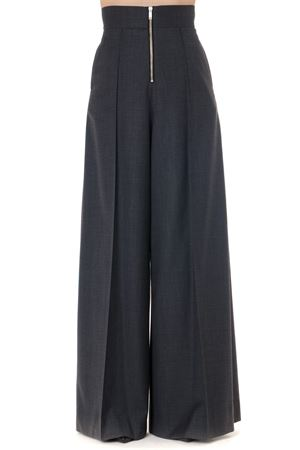 GREY HIGH-WAISTED OVERSIZED TROUSERS FW 2019 MAISON MARGIELA | 8 | S51KA0453S52159860M