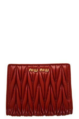 MATELASSÈ NAPPA LEATHER WALLET fw 2019 MIU MIU | 34 | 5MV204N88F068Z
