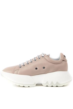 PINK LEATHER TEC NATURE SNEAKERS FW 2019 RUCOLINE | 55 | 1454TEC NATUREROSE WHITE