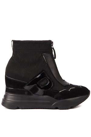 SNEAKERS ULTRA NYCER NERE IN PELLE AI 2019 RUCOLINE | 55 | 4132ULTRA NAYCERNERO