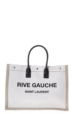 RIVE GAUCHE CANVAS TOTE BAG FW 2019 SAINT LAURENT | 2 | 5094159J52D9280