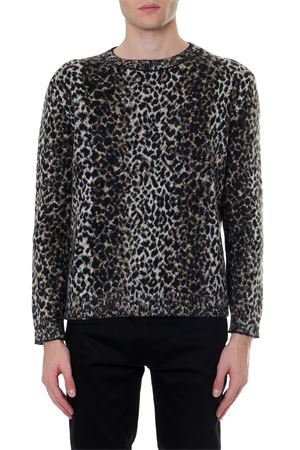 MIXED WOOL LEOPARD PRINTED SWEATER FW 2019 SAINT LAURENT | 16 | 584946YAHA29794