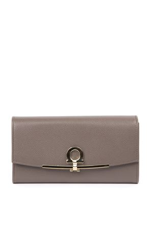 MUD LEATHER TWO SIDES WALLET FW 2019 SALVATORE FERRAGAMO | 34 | 22D5650714921CARAWAY