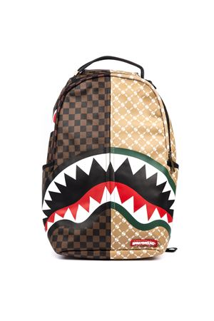 ZAINO SHARK PARIS VS FLORENCE MULTICOLORE IN PVCFW19 SPRAYGROUND | 183 | 910B2292NSZPARIS VS FLORENCE SHARK1
