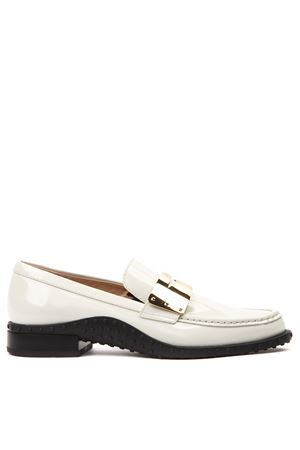 WHITE LEATHER LOAFER FW 2019 TOD