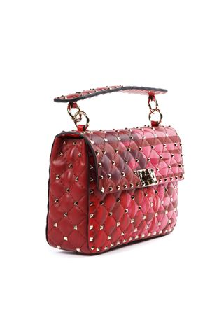 RED ROCKSTUD SPIKE LEATHER BAG FW 2019 VALENTINO GARAVANI | 2 | SW2B0122AUNJP0