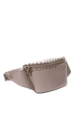 ROCKSTUD LEATHER BELT BAG IN NUDE COLOR FW 2019 VALENTINO GARAVANI | 2 | SW2B0D15VSLP45