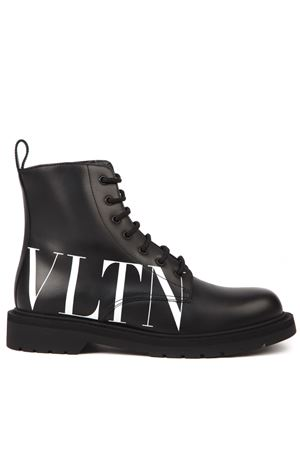 VLTN BLACK LEATHER BOOTS FW 2019 VALENTINO GARAVANI | 52 | SY0S0C70DGQ0NI