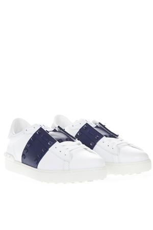 WHITE OPEN LEATHER SNEAKER SS19 VALENTINO GARAVANI | 55 | SY2S0931LTUDT0
