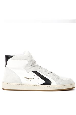 WHITE LEATHER HIGH-TOP SNEAKERS FW 2019 VALSPORT   55   VDNH002M 00624UNIBIANCO NERO