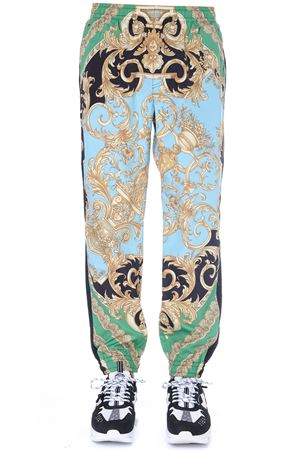 MULTICOLOR BAROQUE PRINTED SPORT TROUSERS FW 2019 VERSACE | 8 | A84052A231454A78Y