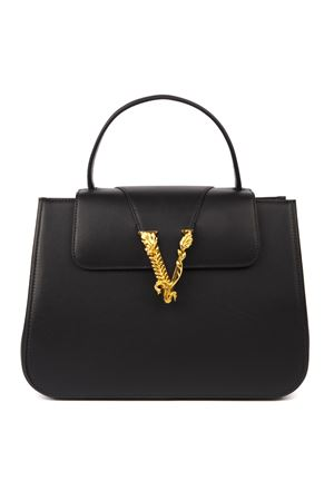 VERSACE BLACK LEATHER TOTE BAG FW 2019 VERSACE | 2 | DBFH006D5VITK41TP