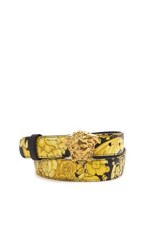 MEDUSA BAROQUE LEATHER BELT FW 2019 VERSACE | 12 | DCDD442DV3BARK4MCT