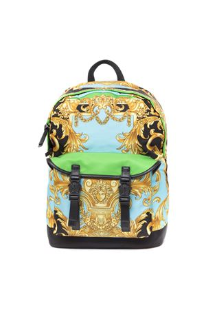 MULTICOLOR NYLON BAROQUE PRINT BACKPACK FW 2019 VERSACE | 183 | DFZ7695DNY09K023H
