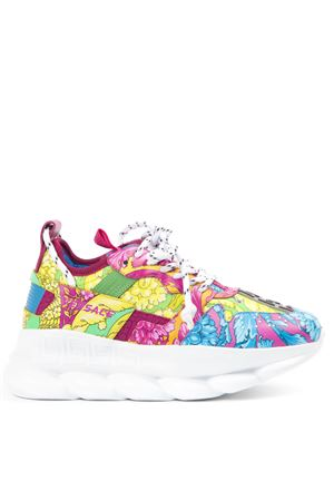 SNEAKERS CHAIN REACTION IN TESSUTO BAROCCO MULTICOLORE AI 2019 VERSACE | 55 | DST030GD30TGDMC
