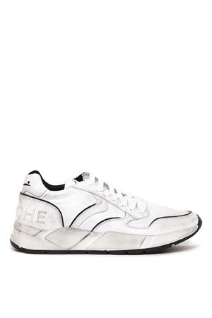 SNEAKERS ARPOLH IN PELLE BIANCA EFFETTO USED AI 2019 VOILE BLANCHE | 55 | ARPOLH001-2014225-01BIANCO