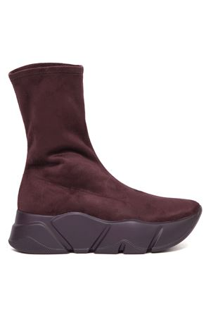 BORDEAUX MONSTER MID TECNO SUEDE ANKLE BOOT FW 2019 VOILE BLANCHE | 52 | MONSTER MID TECNO001-3001384-01BORDEAUX