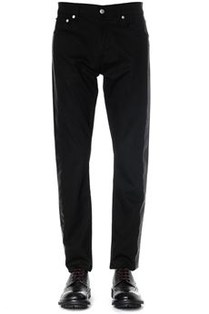 BLACK DENIM COTTON JEANS WITH SIDE STRIPES SS 2020 ALEXANDER McQUEEN | 4 | 589765QOY010901