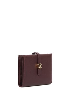 PORTA DOCUMENTI IN PELLE MARRONE PE 2020 BURBERRY | 34 | 8023351.A3599