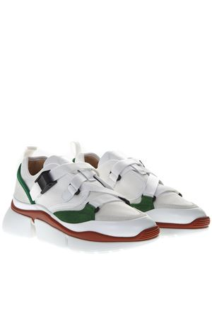 SONNIE WHITE LEATHER SNEAKERS SS 2020 CHLOÉ | 55 | CHC18A05118UNI39V