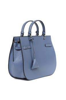 LIGHT BLUE DIDI MEDIUM LEATHER BAG SS 2020 COCCINELLE | 2 | E1 FA5 1802 01B70