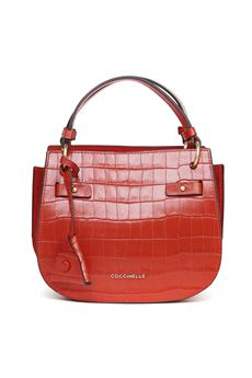 RED DIDI COCO PRINT LEATHER BAG SS 2020 COCCINELLE | 2 | E1 FA8 5501 01R08