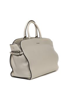 BEIGE COLOR ELLA MAXI LEATHER BAG SS 2020 COCCINELLE | 2 | E1 FB0 1802 01N43