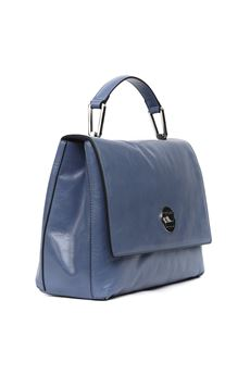 LYA DENIM POLISHED LEATHER HANDBAG SS 2020 COCCINELLE | 2 | E1 FD2 1801 01B70