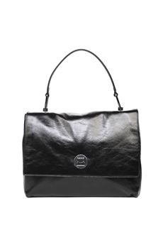 BLACK LIYA LEATHER BAG SS 2020 COCCINELLE | 2 | E1 FD2 1803 01001