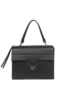 BLACK ARLETTIS LEATHER BAG SS 2020 COCCINELLE | 2 | E1 FD5 1206 01001