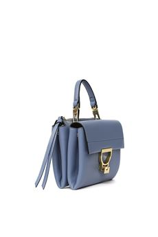 LIGHT BLUE ARLETTIS MINI BAG IN LEATHER SS 2020 COCCINELLE | 2 | E1 FD5 55B7 01B70