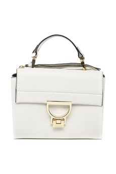 CHALK LEATHER ARLETTIS MINI LEATHER BAG SS 2020 COCCINELLE | 2 | E1 FD5 55B7 01N11
