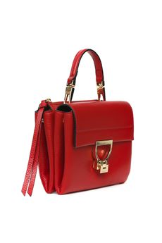 MINI ARLETTIS RED LEATHER BAG SS 2020 COCCINELLE | 2 | E1 FD5 55B7 01R09