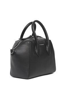 GWEN MEDIUM BLACK LEATHER BAG SS 2020 COCCINELLE | 2 | E1 FH0 1802 01001