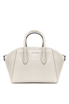 WHITE GWEN MEDIUM LEATHER BAG SS 2020 COCCINELLE | 2 | E1 FH0 1802 01N43