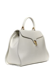 CHALK COLOR MARVIN LEATHER BAG SS 2020 COCCINELLE | 2 | E1 FP0 1801 01N11