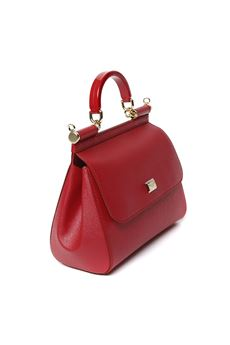 RED SICILY LEATHER BAG SS 2020 DOLCE & GABBANA | 2 | BB6002B543880303
