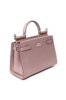 LIGHT PINK SICILY 62 LEATHER BAG SS 2020  DOLCE & GABBANA | 2 | BB6625AV38580472