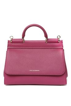 FUXIA SICILY SOFT LEATHER BAG SS 2020 DOLCE & GABBANA | 2 | BB6755AA40987392