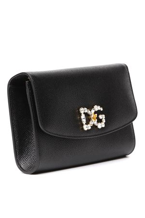 BLACK DAUPHINE LEATHER WALLET SS 2020 DOLCE & GABBANA | 2 | BI1275AU77180999