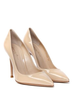 NUDE PATENT LEATHER PUMPS SS 2020 GIANVITO ROSSI | 68 | G28470-15RICVERNICENUDE